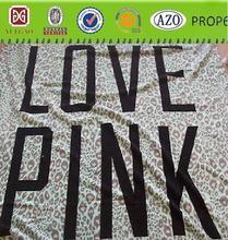 VICTORIA SECRET PINK LIGHT GREEN ANIMAL PRINT LARGE SIZE NEW