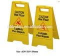 Precaución de plástico piso mojado signo bf-wf01