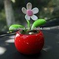 Em movimento balanço de energia solar brinquedos do carro dança flip flap flor