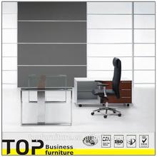 2014 High End Glass Top Executive Office Desk