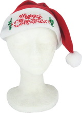 2015 new fashion hot product handmade wholesale decor crafts buy wool felt design Christmas hats with diy scarfs made in China