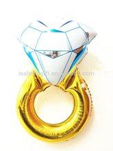 wholesale helium foil diamond ring balloon