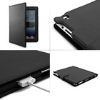 PU Leather Style Case Cover Black FOR APPLE IPAD 2 3 4