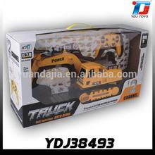 automatico 12ch bruco rc ingegneria camion escavatore con la musica e luci lampeggianti 8060e