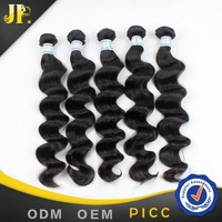 Free shipping 20 inch virgin indian loose wave expensive human hair weaves