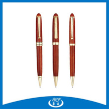 New Latest Style Red Wooden ball Pen