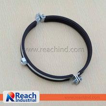 Zinc Plated Steel Rubber Lined Split Clamp