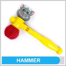 Kids Outdoor Games Equipment Happy Summer Mini Plastic Toy Hammer