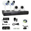 KAVASS 4CH Network DVR CMOS 600TVL Day Night gsm wireless home burglar security alarm system 500G(CLG-4C60018)