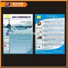 Game Leaflet,Colorful Die-Cut Flyer Printing