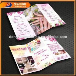 Paper Folding Printing Leaflet,A5 Printing Leaflets