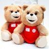 Selling good in Brasil market/ Soft stuffed teddy Bear plush toy / cute birthday gift/valentine present