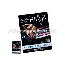 Popular fashion printed paper electronic cigarette catalog