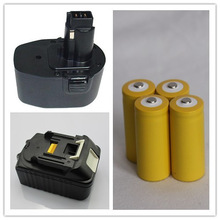 AGA certificated nimh batteries with tabs 4.8v for power tools