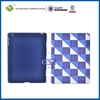 Ultrathin clear rich color fashion hard plastic shell for ipad 4