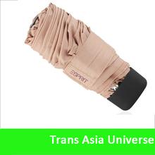 Hot fashion 3 fold super mini umbrella