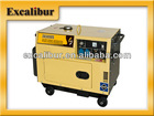 Portable Silent Type Diesel 5KW Generator Low Noise Low Price-2014 Model S6500DS-3