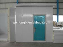 Walk in industrial refrigeration chamber