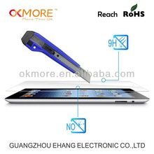 High quality factory price 0.15mm tempered glass screen guard for ipad mini