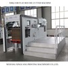 XMB-1100 semi automatic paper used die cutting machine