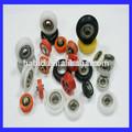 de alta calidad u surco de rodillos de nylon de la rueda