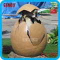 recreio ao ar livre de alta simulação artificial do ovo de dinossauro