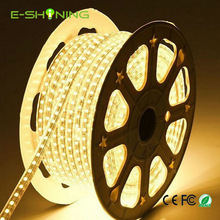 Good quality AC 110V/ 220V SMD 5050 Flexible high voltage led strip 60LEDs/Meter Waterproof IP65 with cheap price