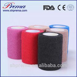 FDA Approved Self adhesive Sterilized Cohesive Bandage