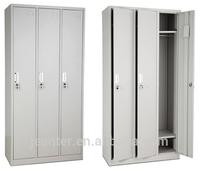 Six Doors Disassembled Locker Cabinet,6 Door Steel Wardrobe