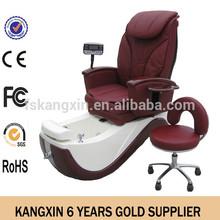 2014 wholsale fiberglass spa chairs no plumbing /pipeless cheap pedicure chairs no plumbing (KZM-S135-9)