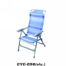 TUV NORD high quality heavy people folding beach chair camping chair
