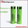 Newest NCR18650BE 3200mah high drain battery for panasonic 18650