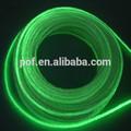 Resplandor lado PMMA iluminación de fibra óptica profesional fabricante productos populares de fibra óptica de diseño luz de la piscina