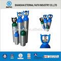 Mt-6-10 de oxígeno portátil de aluminio botella( 2l/2.8l/3.2l/4l/6.3l/10l)