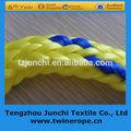 de alta resistencia sólida cuerda de nylon trenzado