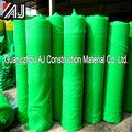 protecção contra a queda de plástico verde da rede de segurança roll