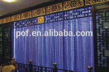 Customized Optic Fiber for Wall Decoration , Curtain Lighting PMMA fiber optic waterfall light curtain