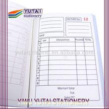 Carbonless paper printing /duplicate invoice books / invoice book