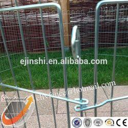Galvanized Dog Puppy Playpens 6 panels Dog Run Kennel