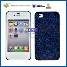 Luxury Style High Quality solid color case for iphone 4/4s