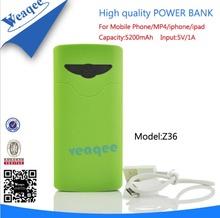 convenient mobile power banks 5200 mah