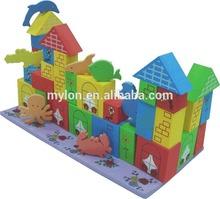 EVA foam building blocks toy/eva building blocks toy