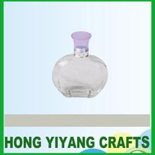 50ml apple shaped clear empty perfume spray bottles