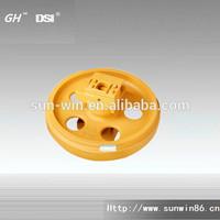 Construction machinery parts front idler for komatsu bulldozer D375