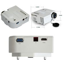 New UC28 Mini LED Projector Home Cinema Theater Connect HDMI