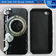Upscale Camera Pattern TPU+PC Combo Case For Motorola X1032 For Moto G Hard Case