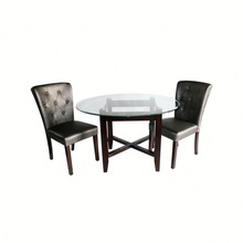 Fashion cheap glass side tables