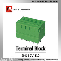 Sanhe connector Manufacture PCB screw terminal block 5.0mm