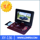 LED Screen MKV Portable DVD Player With USB