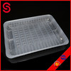frozen food tray packaging/ mushroom packing tray/ plastic thermoforming tray